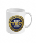 Time Enforcement Commision TEC Ceramic Mug Based on Scifi Movie Timecop
